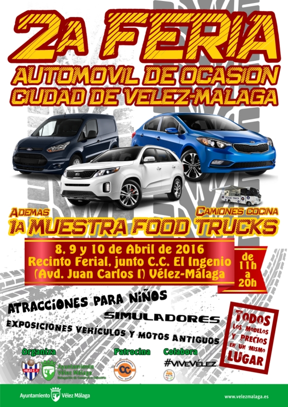 CARTEL FERIA AUTOMOVILES wp