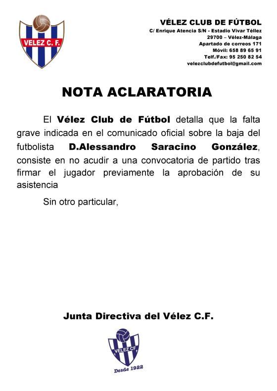 Nota aclaratoria - Baja Alessandro - Vélez CF-page-001
