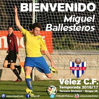 Bienvenido Miguel Ballesteros