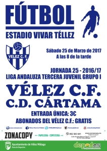 CARTEL vs CARTAMA juvenil X3 wp