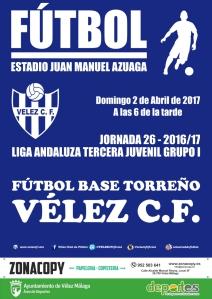 CARTEL vs TORREÑO fuera juvenil X3 wp