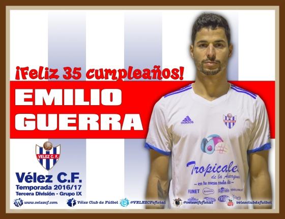 Feliz cumpleaños Emilio Guerra