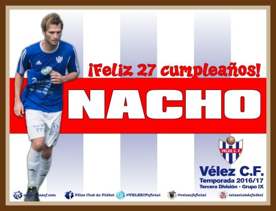 Feliz cumpleaños Nacho