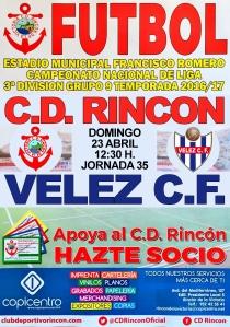 CARTEL vs RINCON X3 fuera