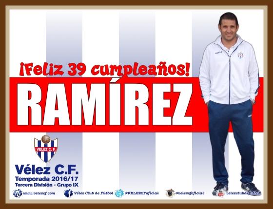 Feliz cumpleaños Ramirez