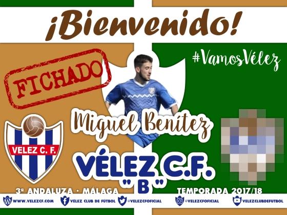Bienvenido Miguel Benítez FILIAL 95