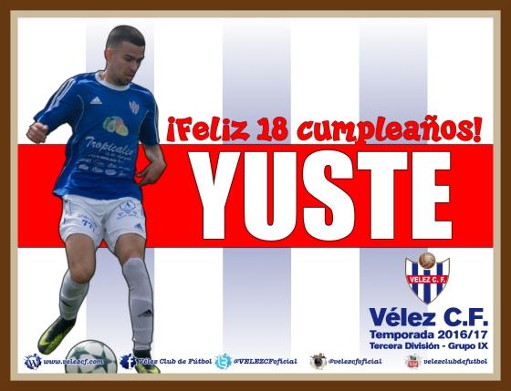Feliz cumpleaños Yuste