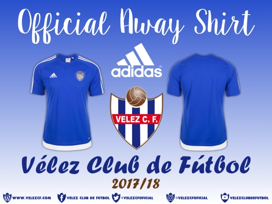 OFFICIAL AWAY SHIRT