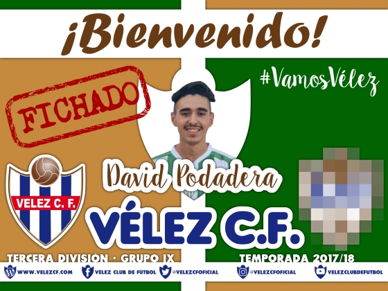 Bienvenido David Podadera TERCERA 95