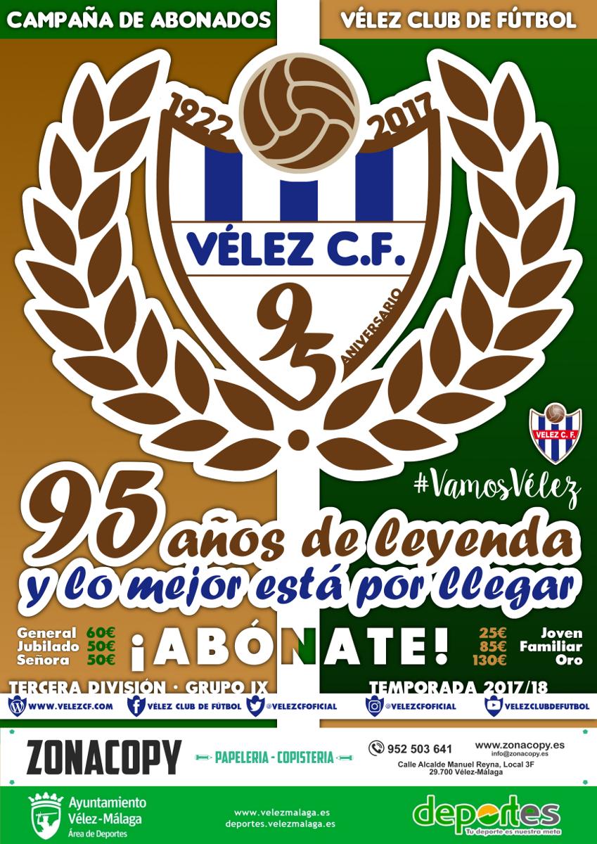 CAMPAÑA ABONADOS 2017/18 | Vélez C.F.