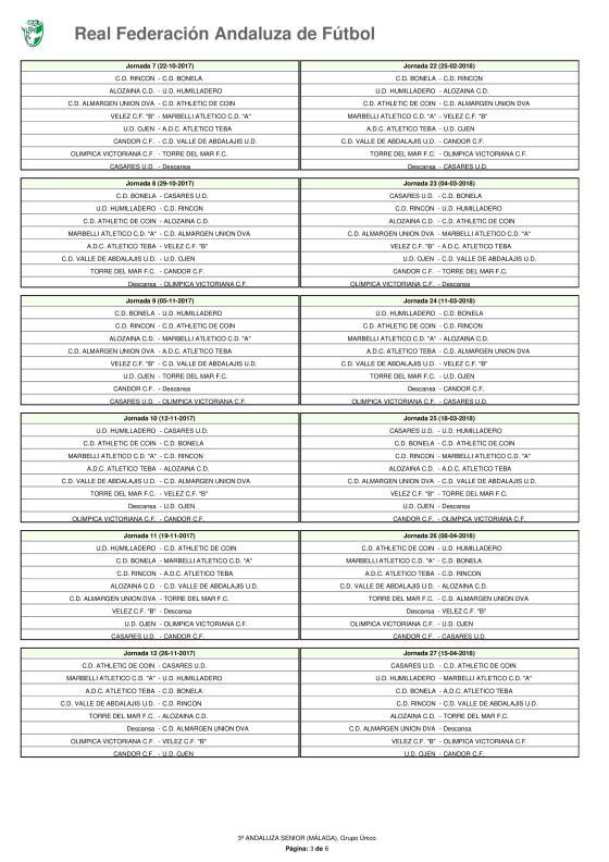 Calendario · Tercera Andaluza Senior · 2017-18-page-003