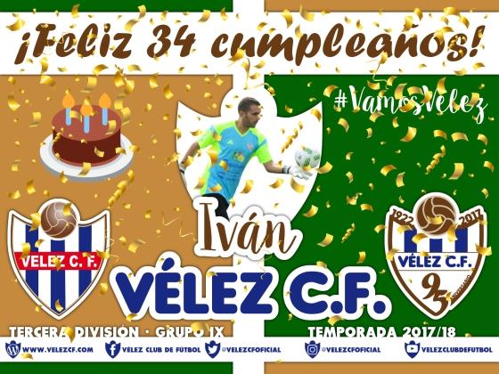 Feliz cumpleaños Vélez Iván TERCERA 95