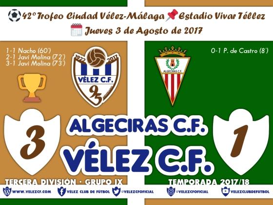 vs Algeciras Trofeo Resultado TERCERA 95