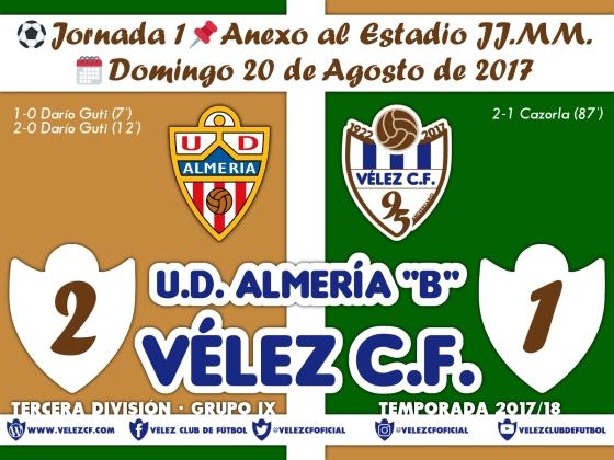 vs almeria j1 Resultado TERCERA 95 Liga