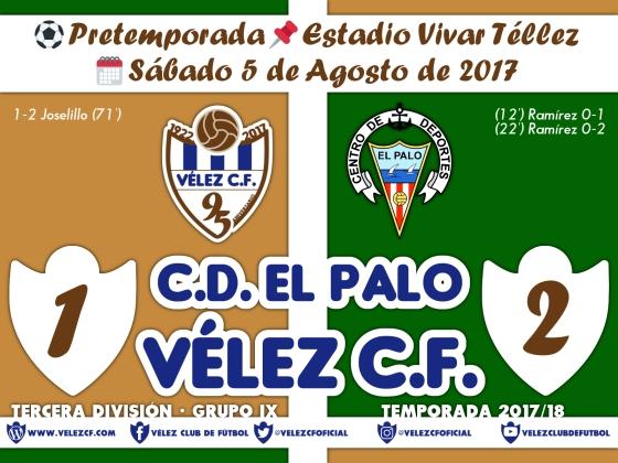 vs El Palo Resultado TERCERA 95