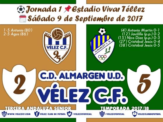 vs almargen j1 Resultado FILIAL 95 Liga