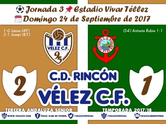 vs rincon j3 Resultado FILIAL 95 Liga