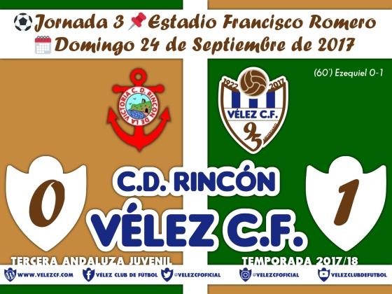 vs rincon j3 Resultado JUVENIL 95 Liga