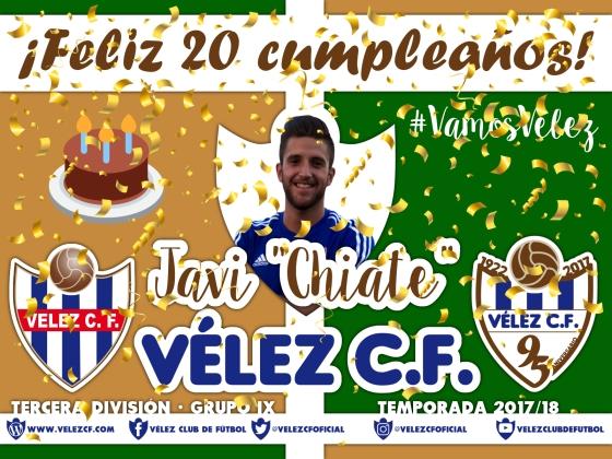 Feliz cumpleaños Vélez Javi González TERCERA 95