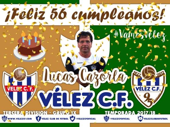 Feliz cumpleaños Vélez Lucas Cazorla TERCERA 95