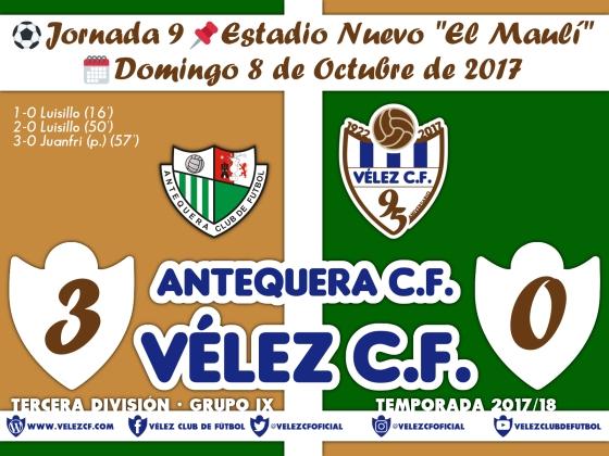 vs antequera j9 Resultado TERCERA 95 Liga