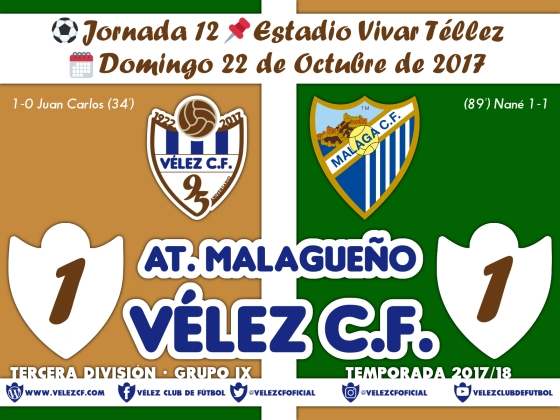 vs malagueño j12 Resultado TERCERA 95 Liga