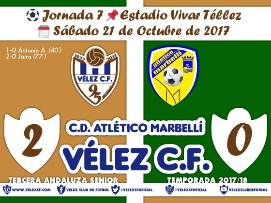 vs marbelli j7 Resultado FILIAL 95 Liga