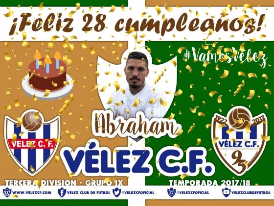 Feliz cumpleaños Vélez Abraham TERCERA 95