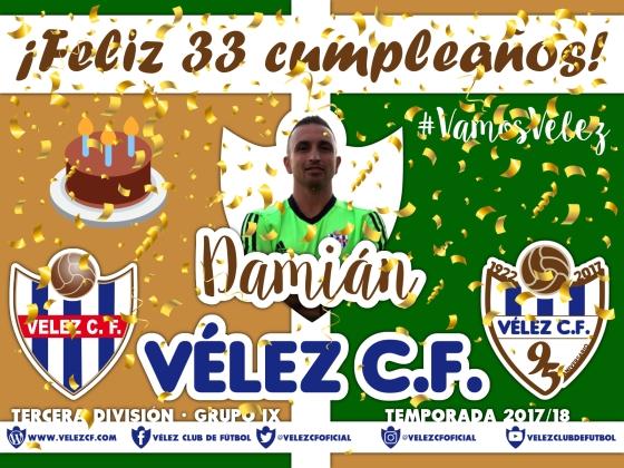 Feliz cumpleaños Vélez Damián TERCERA 95
