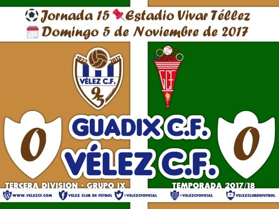 vs guadix j15 Resultado TERCERA 95 Liga