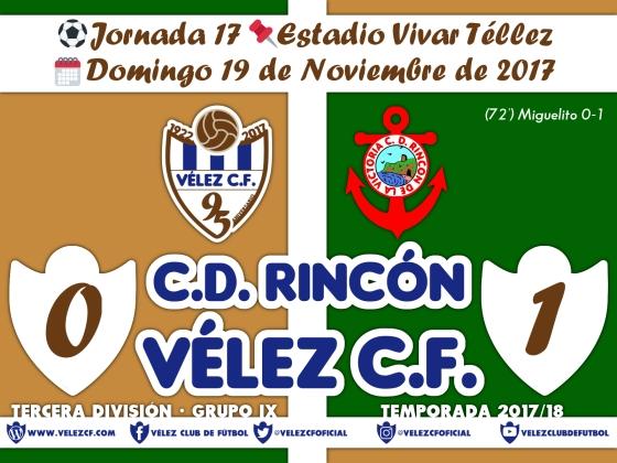 vs rincon j17 Resultado TERCERA 95 Liga