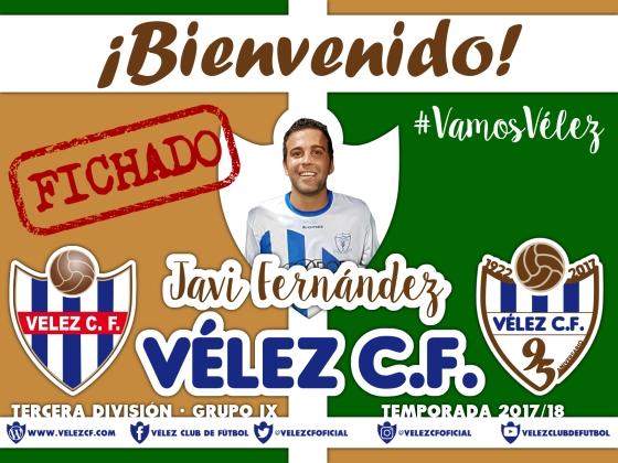 Bienvenido Javi Fernández TERCERA 95
