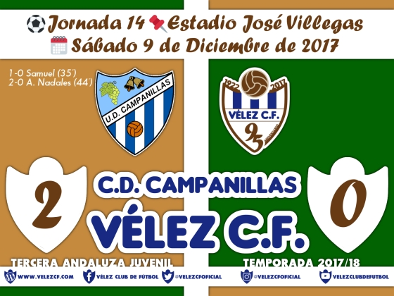 vs campanillas j14 Resultado JUVENIL 95 Liga