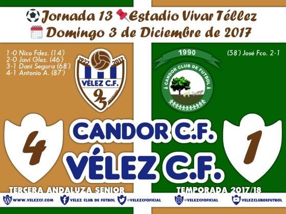vs candor j13 Resultado FILIAL 95 Liga