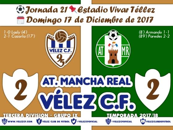 vs mancha real j21 Resultado TERCERA 95 Liga