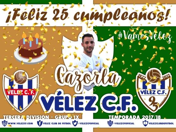 Feliz cumpleaños Vélez Cazorla TERCERA 95