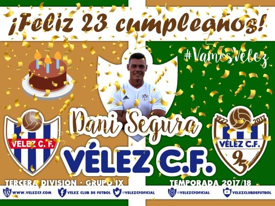 Feliz cumpleaños Vélez Dani Segura TERCERA 95