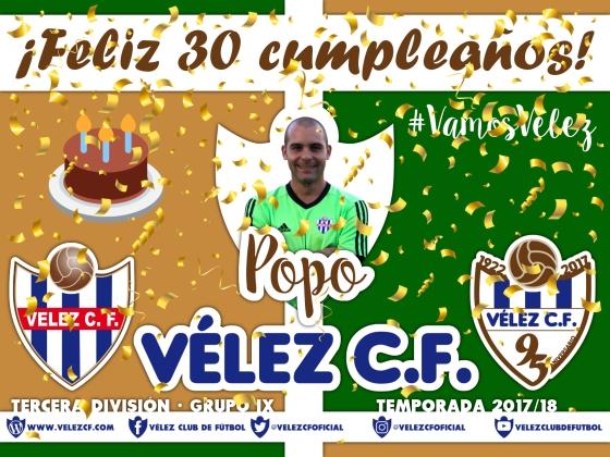 Feliz cumpleaños Vélez Popo TERCERA 95