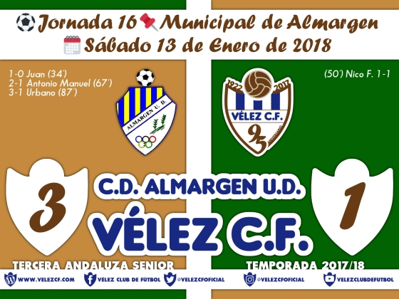 vs almargen j16 Resultado FILIAL 95 Liga