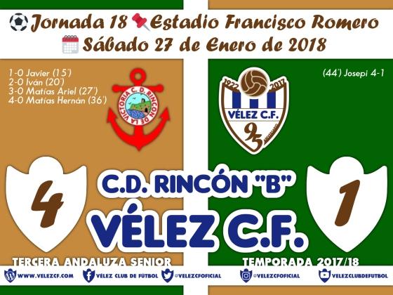 vs rincon j18 Resultado FILIAL 95 Liga
