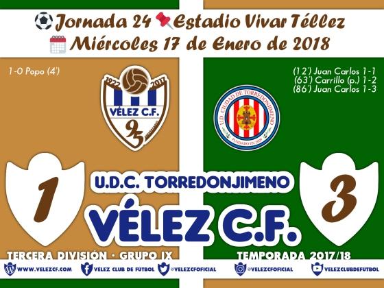 vs torredonjimeno j24 Resultado TERCERA 95 Liga