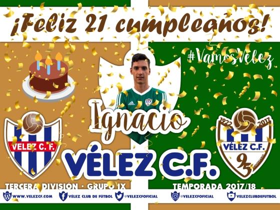 Feliz cumpleaños Vélez Ignacio TERCERA 95