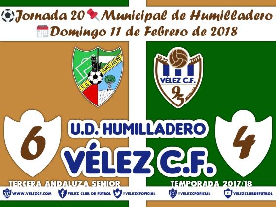 vs humilladero j20 Resultado FILIAL 95 Liga