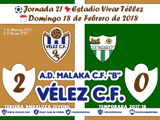 vs malaka j21 Resultado JUVENIL 95 Liga