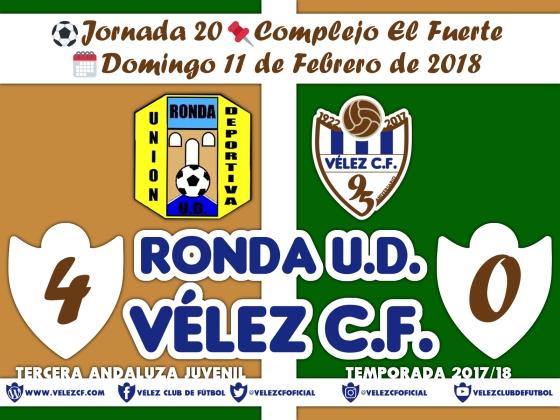 vs ronda j20 Resultado JUVENIL 95 Liga