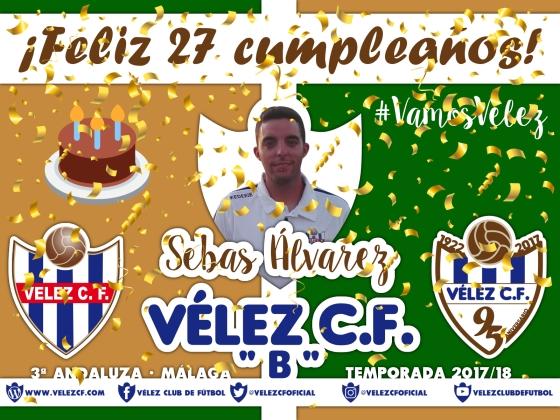Feliz cumpleaños Sebas Álvarez FILIAL 95