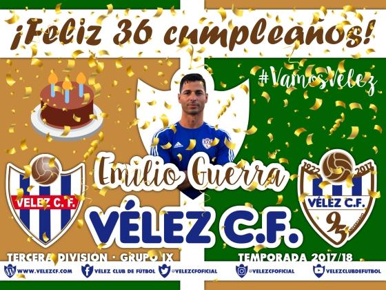 Feliz cumpleaños Vélez Emilio Guerra TERCERA 95