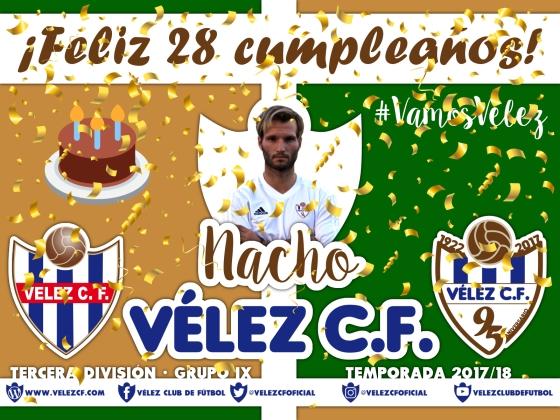 Feliz cumpleaños Vélez Nacho TERCERA 95