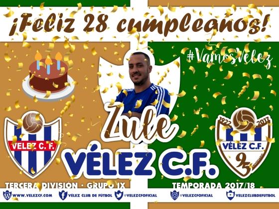 Feliz cumpleaños Vélez Zule TERCERA 95