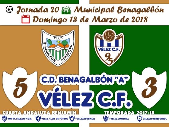 vs benagalbon j20 Resultado BENJAMÍN 95 Liga